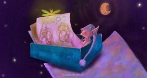 """Storia per bambini """"La scatola dei regali della buonanotte"""" su Favoledellabuonanotte.com"""