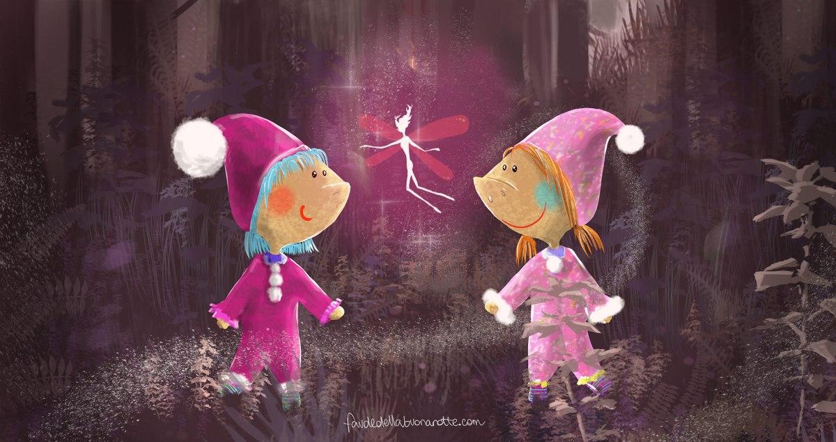 """Storia per bambini """"Allora mi vuole bene"""" su Favoledellabuonanotte.com"""