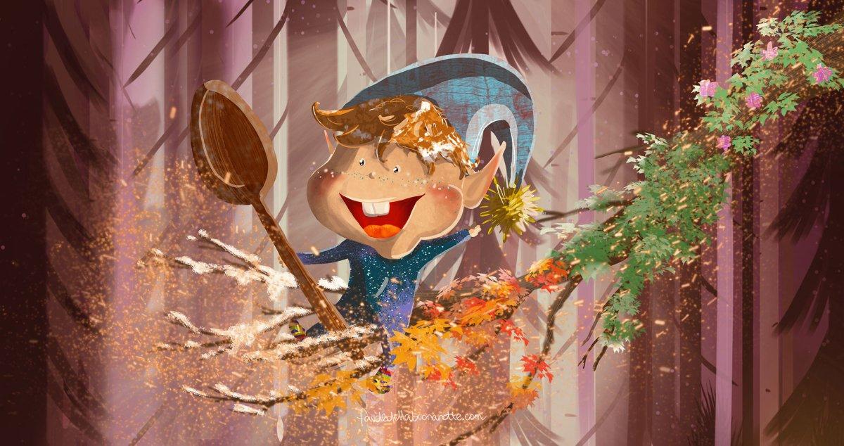 """Storia per bambini """"Il cucchiaio Magico"""" su Favoledellabuonanotte.com"""