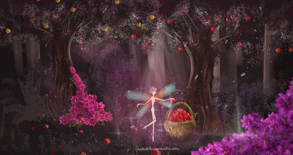"""Storia per bambini """"Il giardino di nonna Tobee"""" su Favoledellabuonanotte.com"""