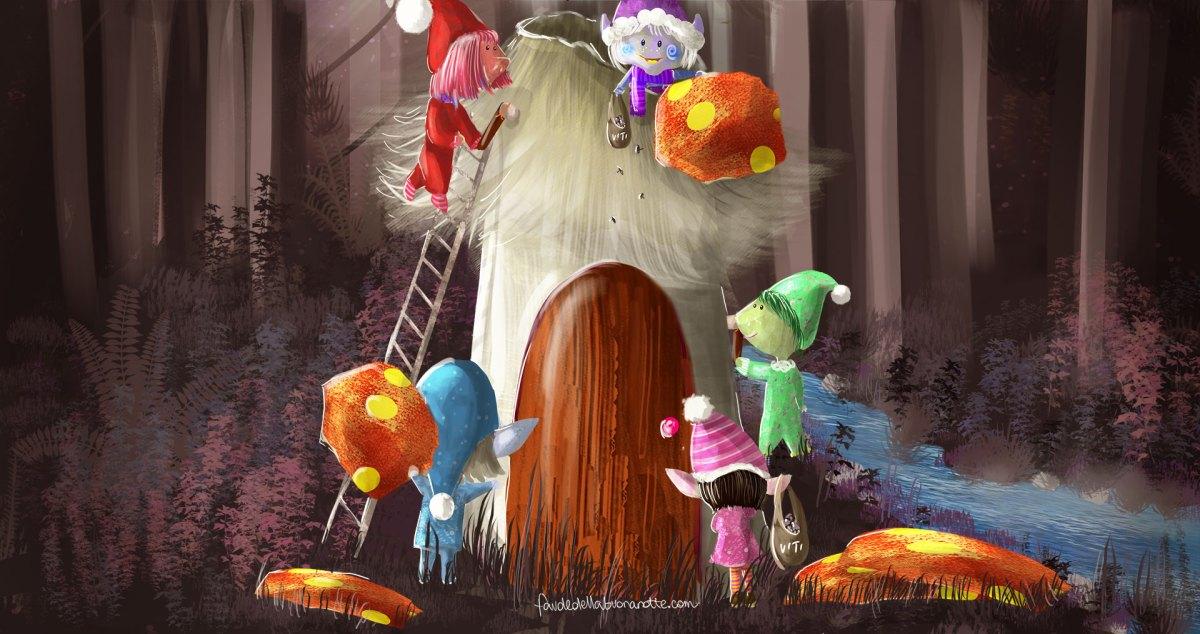 """Storia per bambini """"Storie di tutti i colori"""" su Favoledellabuonanotte.com"""