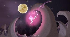 """Storia per bambini """"La magia della luna!"""" su Favoledellabuonanotte.com"""