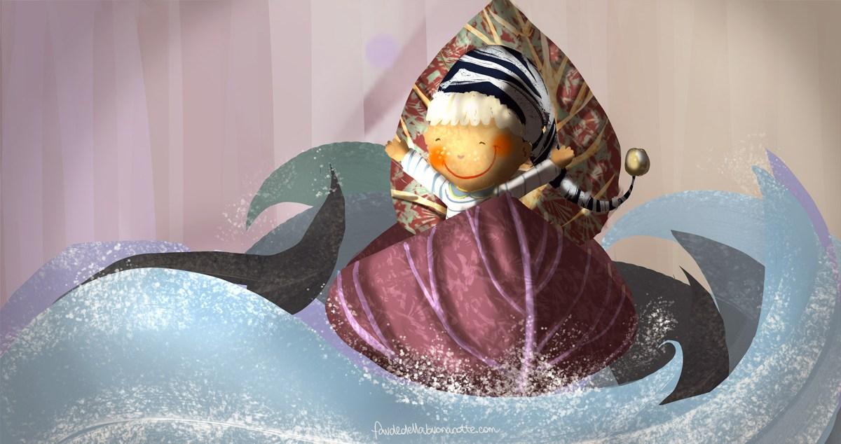 """Storia per bambini """"Il vento e il principe"""" su Favoledellabuonanotte.com"""