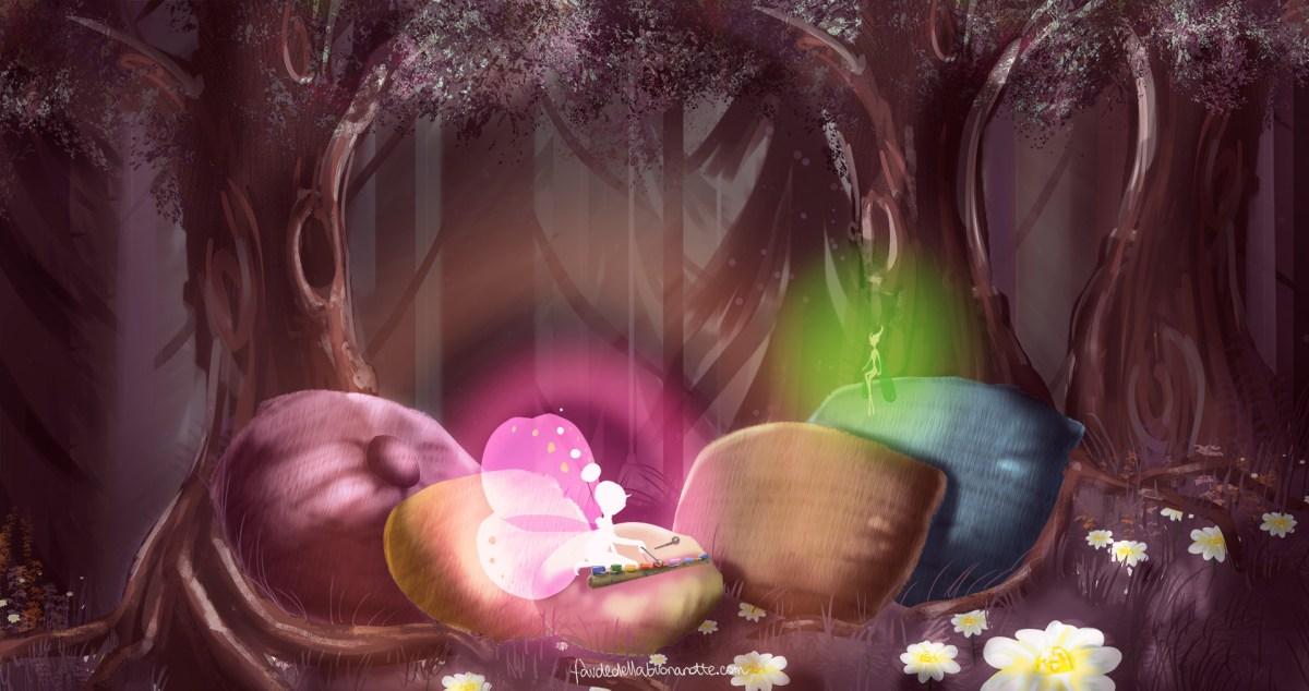 """Storia per bambini """"Buonanotte amore mio..."""""""